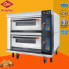 Factory Price 2 Deck 4 Tray Luxurious Electric Oven for Pizza