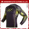 Newest Design Sublimation Long Sleeves Mens Rash Guards (ELTRGI-19)