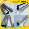 Silver Brushed Aluminum Extrusion for Kitchen Furnitures Making