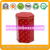 Hexagonal Tin Can for Cookie Biscuit, Metal Food Can