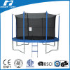 8FT Round Trampoline with Outside Safety Net