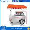 Italian Popsicles Gelato Display Cart