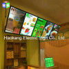 LED Menu Board Advertising Panel with Light Box for Restaurant Fast Foods Beer Sign