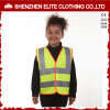Roadway Warning Orange Kids Reflective Safety Vest Waterproof