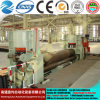 Hot! Mclw11stnc -120*4000 on a Fully Hydraulic Large CNC Roller Universal Bending Machine