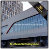 Powder Coated Decorated Perforated Exterior Wall Cladding Aluminum Panels