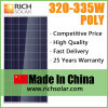 335W Poly Photovoltaic Solar Panel for Home Use