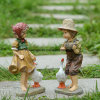 Resin Figures Garden Decoration, Outdoor Statue, Yard Decoration