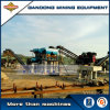 High Recovery Gravity Alluvial Gold Plant Alluvial Mining Line