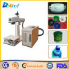 100*100mm Portable 20W Fiber Laser Marker Marking Ceramic/Bottle/ Cap