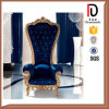 Manufacturing Wood Manual Sculpture Throne Chair Br-LC030