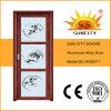 Interior Design Aluminum Glass Door for Toilet (SC-AAD071)