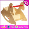 2016 Brand New Wood Rocking Horse, Lovely Wooden Rocking Horse, Kids′ Rocking Horse W16D082b