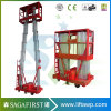 8m to 12m Upright Aluminum Alloy Aerial Aloft Ladder for Painting