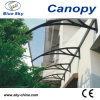 Waterproof Stainless Steel Canopy with Glass Roof (B900)