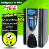 12-Selection Instant Coffee Vending Machine -Golden Milano 6s