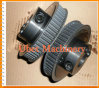 Flanged Custom Timing Belt Pulleys with Clamping Collar