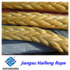 Flexible UHMW-P Rope, Mooring Fiber Rope, with 3/8/12 Strands