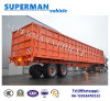 13 Meters Heavy Duty Two Axle Compartment Side Wall Cargo Truck Semi Trailer