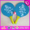 2015 Cheapest Wooden Beach Racket, Best Quality Wooden Beach Racket Set, Colorful Beach Rackets /Bats/Sets/Beach Ball Set W01A099
