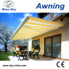 Outdoor Polyester Retractable Full Cassette Awning (B4100)