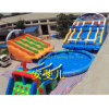 20m Big Portable Inflatable Water Sport Park Slide Pool