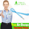 Wholesale China Factory Custom Solid Color Polyester/Nylon Printed Lanyard
