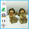 Cute Polyresin Home Decoration Angel Figurine for Gifts