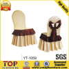 Hotel Bowtie White Banquet Chair Cover
