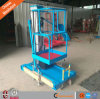 10m 125kg Aluminium Single Mast Portable Man Lifts for Sale