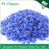 Crushed Cobalt Blue Glass Chips