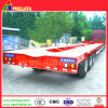 3-4axles 50-80tons Large Tank Arc Beam Low Bed Semi Trailer