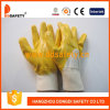 Ddsafety 2017 Ce Yellow Nitrile Coated Work Gloves