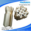 Thread Button Bit, T38-64mm, Retrac, 13buttons