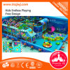 Kids Naughty Castle Indoor Ocean Theme Park Playground Equipment for Mall