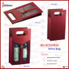 2014 New PU Foldable Double Wine Bag (2310R26)