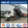 Liuqi Chenglong 4*2 Dump Truck with Small Cargo Box