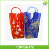 PVC Wine Carry Bag Ice Bag for Christmas Promotion