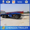 3 Axle BPW 30tons Hook Full Trailer for Et