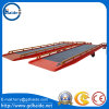 Mobile Container Dock Ramp with Hydraulic Retractable Support Leg