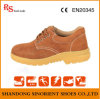 Slip Resistant Men Leather Working Kitchen Safety Shoes RS397