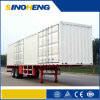 China Closed Box Semi Trailer with Side Doors