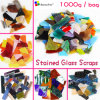 1000gram Stained Glass Scraps DIY Craft Tiffany Glass Mosaic Hobbies DIY Material Supplier