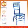Blue Clear Polycarbonate Resin Chiavari Tiffany Chair