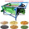 Small Mobile Farm Grain Soybean Winnower Wheat Rice Corn Grape Alfalfa Amaranth Barley Camas Air Seed Screen Cleaner for Sale