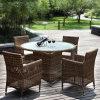 Outdoor PE Rattan Pool Furniture Sets
