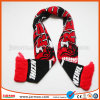 Hot Sale Knitted Acrylic Football Scarf