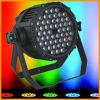 Gbr LED Stage PAR Lighting/3W*54PCS RGBW IP65 LED Stage PAR Can