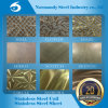 201/304/410/409/430/202 3cr12 Stainless Steel Plate Embossed/Etching for Decoration