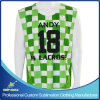 Custom Sublimation Men′s Lacrosse 2 Ply Reversible Sleeveless Shirt